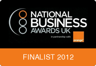 Finalist for the National Business Awards 2012